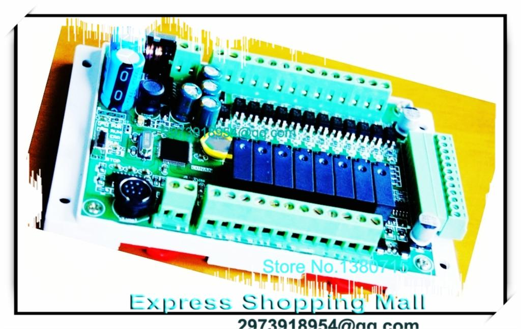 NEW FX1S-20MR-4AD2DA Module board Clock Modbus 24VDC analog input output Relay output for PLC