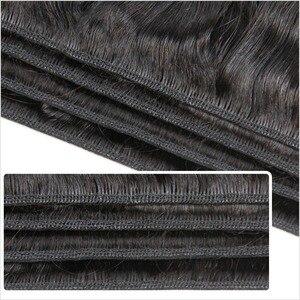 Image 2 - עלי גרייס שיער ברזילאי ישר שיער טבעי 4 חבילות 100% רמי שיער טבעי וויבס צבע טבעי 10 28 inch משלוח חינם