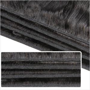 Image 2 - ALI GRACE Hair Brazilian Straight Human Hair 4 Bundles 100% Remy Human Hair Weaves Natural Color 10 28 inch Free Shipping