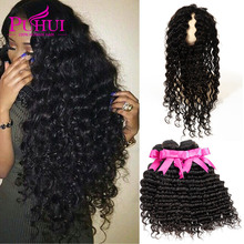 360 Lace Frontal With Bundle Deep Wave Frontal And Bundles Malaysian Virgin Hair With Closure Rosa Hair Products With Closure