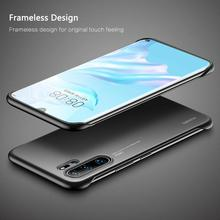 Msvii Frameless Case For Huawei P30 Pro Transparent Coque Silicone P20 Funda Luxury Capa