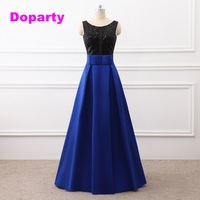 Doparty XS2 Cheap Royal Blue Light Burgundy Navy Blue Junior High 8th Grade Prom Graduation Dresses