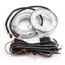 2PCS Daytime Running Light For Subaru Forester 2009 2010 2011 2012 Fog Lamp 12V Angle Eyes Waterproof DRL Car Accessories LED