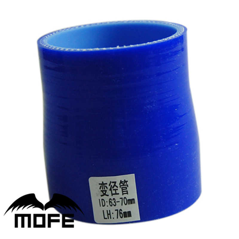 """3.25/"""" inch ID:83mm Straight Silicone Hose Coupler Turbo Intercooler Pipe Blue"""