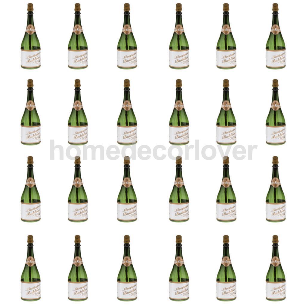 Mini Champagne Bottles. Des Ides Simples Et Sympas De Dcoration De ...