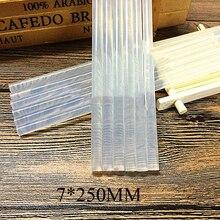 1 шт. 7 мм термоплавкий клей-карандаш для теплового клеевого пистолета высокой вязкости 7x250 мм Клей-карандаш ремонтный набор инструментов ручной инструмент DIY