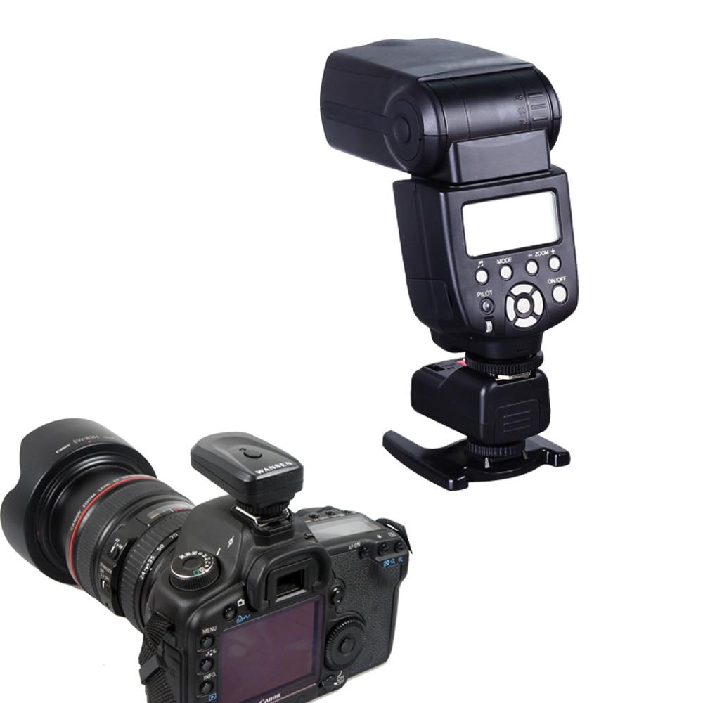 Wansen PT-04GY 4 canales inalámbrico remoto Speedlite Flash Trigger - Cámara y foto - foto 6