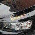 Бесплатная доставка фар автомобиля брови спорт наклейки стайлинга автомобилей для toyota yaris camry corolla rav4 vios prius