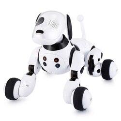 DIMEI 9007A робот собака электронная собака умная собака Робот игрушка 2,4 г умный беспроводной говорящий пульт дистанционного управления детски...