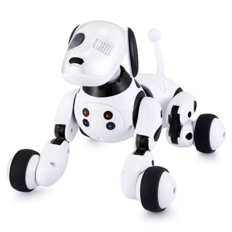 DIMEI 9007A Robô Cão Eletrônico Pet Falando Brinquedo Do Cão Robô Inteligente 2.4G Sem Fio Inteligente de Controle Remoto Presente Dos Miúdos Para aniversário