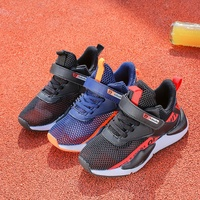 2019 Toddler Boys Girls Hot Mesh Breathable Sneakers Designer Black Kids Running Shoes Cheap Unisex Children Shoes School Shoes