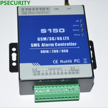 LPSECURITY GSM 3G 4G RTU SMS Alarm Controller Industrial IOT RTU Monitoring System in-built watchdog S150 image