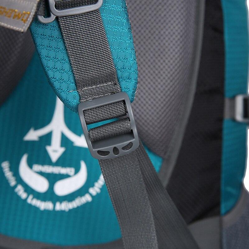 80L Camping randonnée sacs à dos grand sac extérieur sac à dos en Nylon superlight Sport sac de voyage en alliage d'aluminium support 1.65 kg - 6
