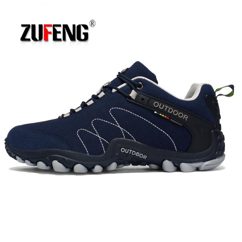 35 46 Women Men Outdoor Hiking Shoes Non Slip Wearable Climbing Couple Shoes Sportive Waterproof Walking Shoe Unisex Sneakers|Hiking Shoes|   - AliExpress