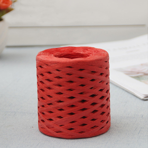 Image 4 - 200M Paper Rope Raffia Ribbon Natural Lace Rope Gift Box Wrapping DIY Scrapbooking Crafts Wedding Birthday Party Decoration