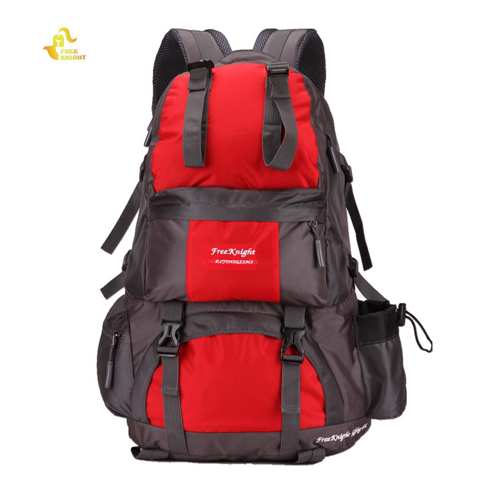 Free Knight 50L Sport Bag Polyester Water Resistant Camping Backpack Rucksack For Mountaineering Hiking Travel
