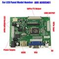 "HDMI VGA 2AV 50PIN TTL Драйвер Контроллера Совета Монитор для Raspberry PI 2 IPS Для AUO A080SN01 8 ""800x600 TFT LCD Дисплей Панели"