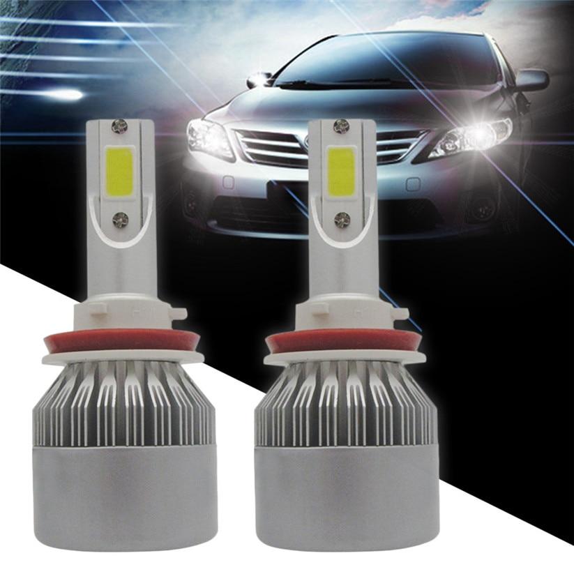 Car-styling CARPRIE Headlight Bulbs Car COB H8 H9 H11 1080W 162000LM LED Headlight Kit Hi/Lo Power Bulbs 6000K td0418 dropship