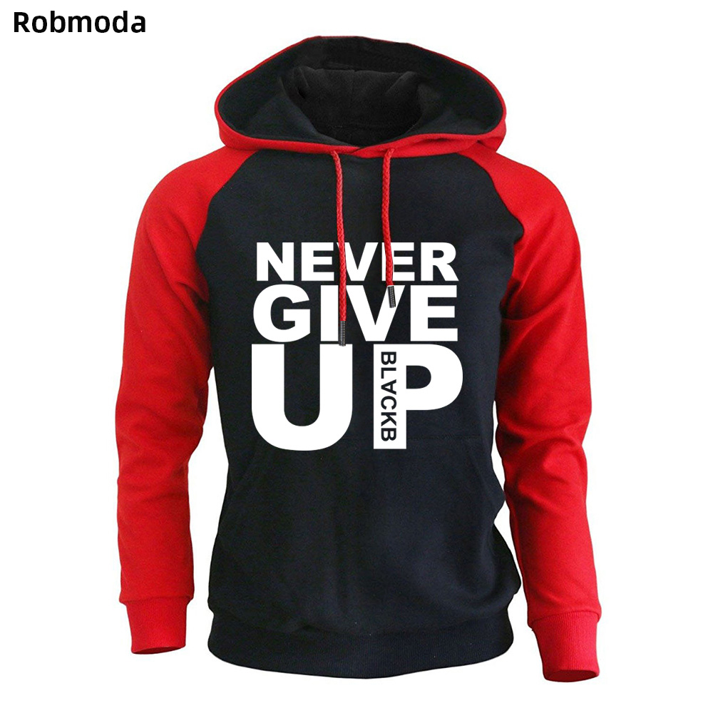 Never Give Up Liverpool Hoodies Champions Football Madrid Final Mo 2019 Salah Men Sweatshirt Vanquish Fitness Sweat Homme Tops
