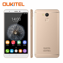 Oukitel U15 Pro 5.5 inch HD 4G Mobile Phone Android 6.0 MT6753 Octa Core 3GB RAM 32GB ROM 16.0MP 3000mAh Fingerprint Smartphone