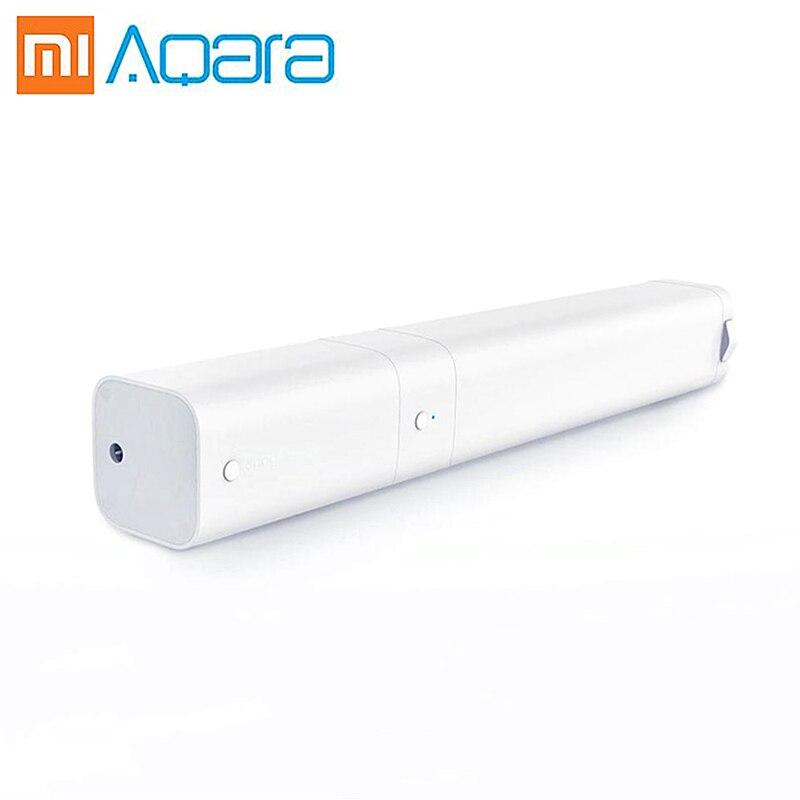Aqara ผ้าม่านมอเตอร์ B1 เครื่องจักรไฟฟ้าแบตเตอรี่ Zigbee wifi รีโมทคอนโทรลไร้สาย mi home mi jia app xiaomi ใหม่-ใน รีโมทคอนโทรลอัจฉริยะ จาก อุปกรณ์อิเล็กทรอนิกส์ บน AliExpress - 11.11_สิบเอ็ด สิบเอ็ดวันคนโสด 1