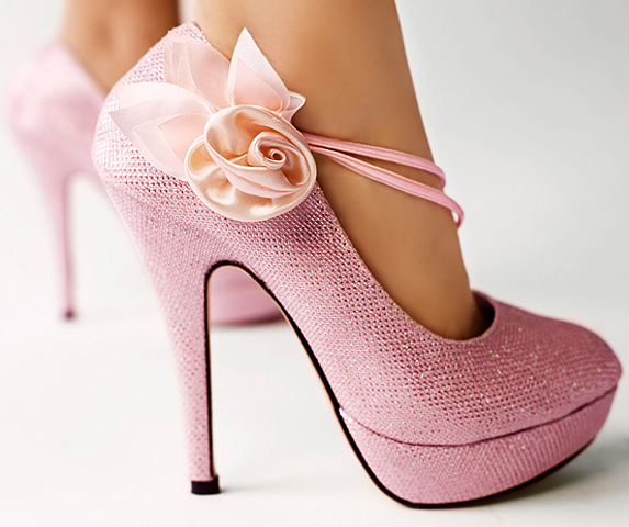 Free shipping 12cm royal wedding bridal shoes glitter pink flower free shipping 12cm royal wedding bridal shoes glitter pink flower party evening women high heels fashion mightylinksfo