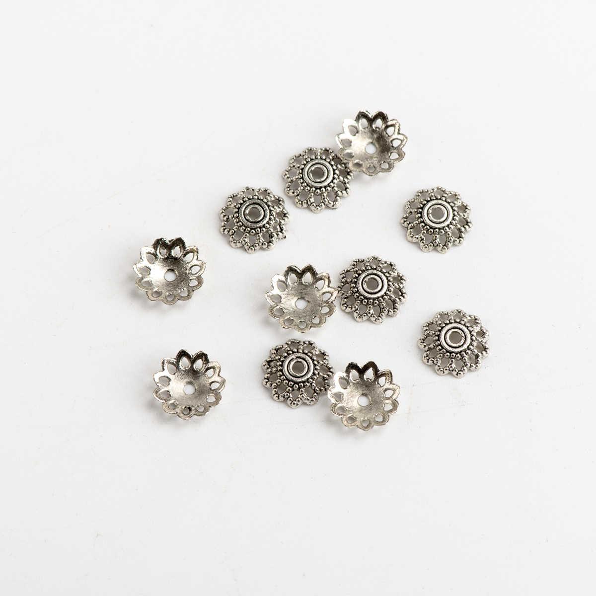 Hạt Mũ Không Phai Màu TỰ LÀM Trang Sức Làm Cho Những Phát Hiện Thủ Công Phụ Kiện Cho Jewelries Bộ Kim Chỉ # JY326
