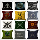 Harry Potter Style Cushion Cover elk Pillow case Home Decorative Pillows Cover for Sofa Euro Pillow Home Decor