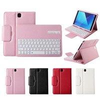 Detachable Wireless Bluetooth Keyboard For Samsung Galaxy Tab S3 T820 9.7 Case Auto Sleep/Wake Cover+Wirelss Keyboard T20G
