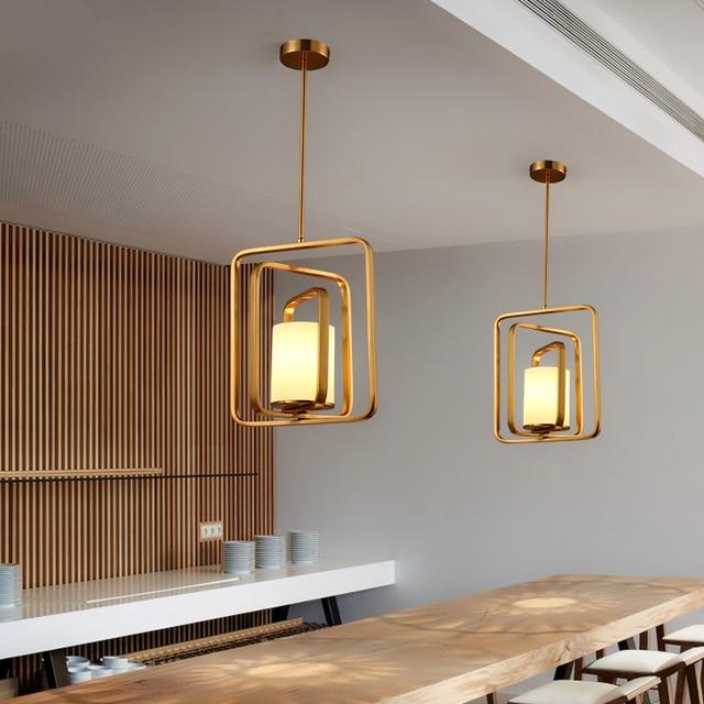 Nordic Postmodern Designer Hanging Lighting Simple Restaurant Lamps Bedroom Pendant Light Bar Cafe Lights Fixture