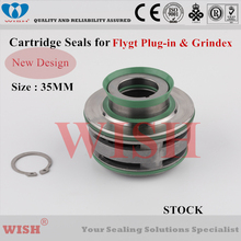 35mm New plug in cartridge seal /Flygt and Grindex pump mechanical 2670, 3153, 5100.210, 5100.211, 5100.220 & 5100.221