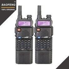 2 шт. Baofeng UV-5R 3800 мАч Long Range Walkie Talkie 10 км Dual Band УВЧ и УКВ UV5R Ham КВ трансивер Портативный УФ 5R радиостанции