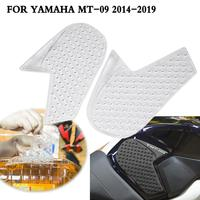 For Yamaha MT09 MT 09 MT 09 2014 2019 Traction Pad Tank Protector Anti slip Sticker Clear Decal 2014 2015 2016 2017 2018 2019