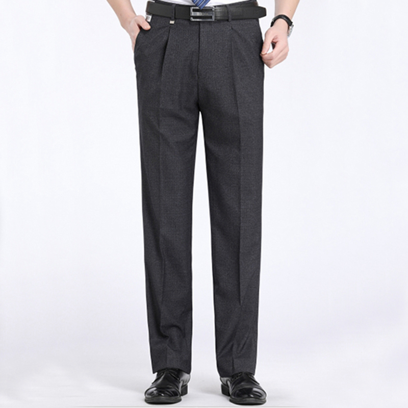 New 2018 Formal Wedding Men Suit Pants Fashion Slim Fit Casual Brand Business Blazer Straight Dress Trousers ...