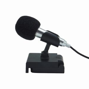 Image 5 - נייד מיני חכם מיקרופון, סטריאו הקבל מיקרופון עבור עבור טלפון נייד מחשב נייד לפטפט שירה קריוקי 3.5mm סט