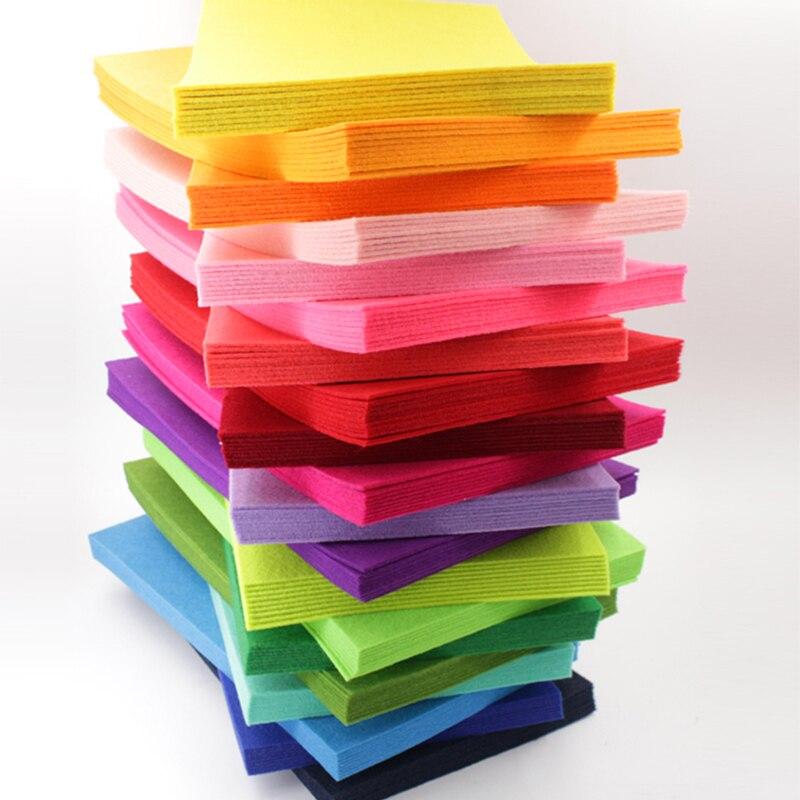 Фетровая Полиэстеровая ткань толщиной 2 мм 20 х30 см, Нетканая цветочная ткань, гирлянда, разноцветные гирлянды для Швейное Ремесло «сделай сам», декор для рукоделия|Войлок| | АлиЭкспресс