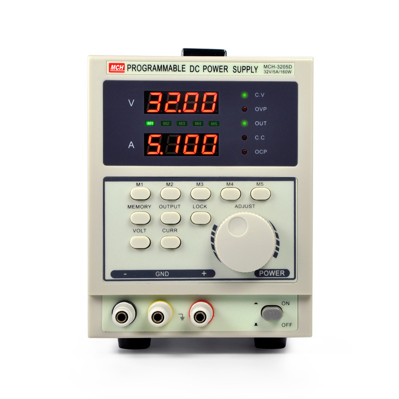 Size : 110V Adjustable DC Regulated Power Supply Four-digit Display Linear Regulated Power Supply MCH-305DB High Precision