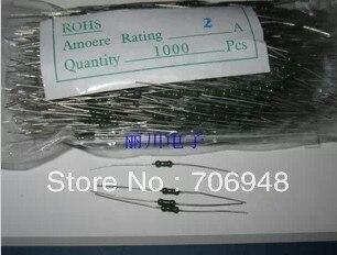 Resistive Fuse 250V 0.5A, 1A,2A,3A,4A for choice 2.1x5.7mm