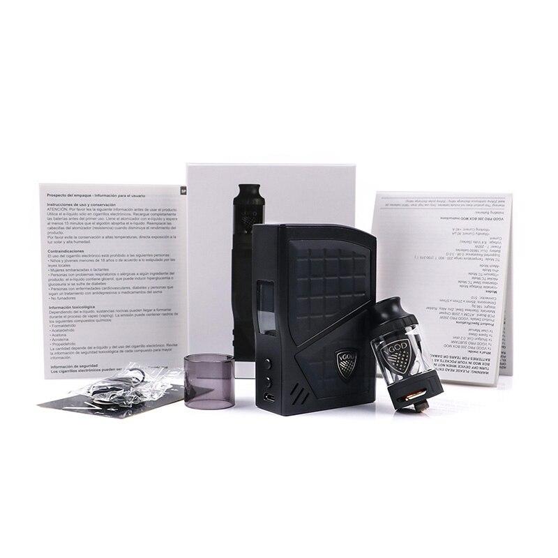 D'origine VGOD Pro 200 Boîte kit Mod TC Vaporisateur Mod 200 w 4 ml VGOD Sous ohm réservoir Atomiseur Cigarettes Électroniques 0.2ohm Bobine Vaporisateur - 6
