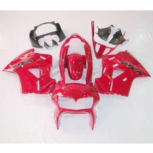 Plástico vermelho Carroçaria Kit Carenagem Cowl Para Honda VFR800 VFR 800 98-01 99 00 3A