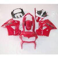 Red Plastic Fairing Cowl Bodywork Kit For Honda VFR800 VFR 800 98 01 99 00 3A