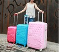 "20""24""28 inch hello kitty hardside Trolley luggage travel suitcase for girl abs spinner"