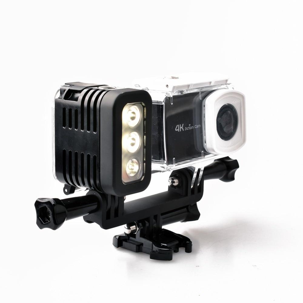 30 metara podvodni vodootporni ronilački LED Gopro LED svjetiljka - Kamera i foto - Foto 5