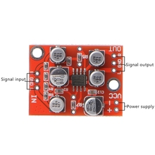 DC 5V 15V 12V AD828 Stereo Preamp Power Amplifier Board Preamplifier Module