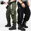 Ropa Militar de CARGA PANTALONES de Los Guardapolvos de Los Hombres PANTALONES TÁCTICOS Rodillera MILITAR Masculina EE. UU. Militar Estilo de Combate de Camuflaje pantalones de Camuflaje