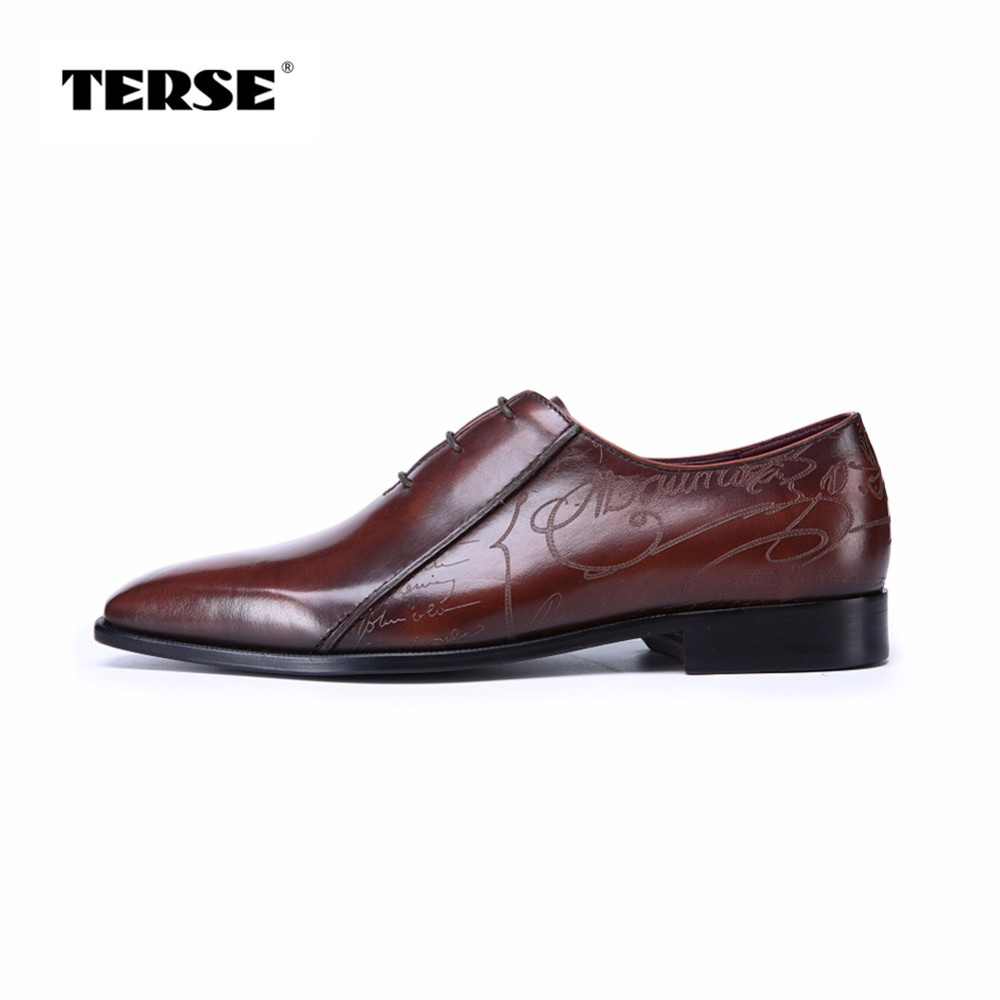 TERSE_Factory price goodyear welted dress shoes handmade Italian calfskin genuine leather oxford shoes mens custom service luxury bespoke goodyear welted shoes elegant mens dress shoes italian unique boss wingtips shoes italian grooms wedding shoes