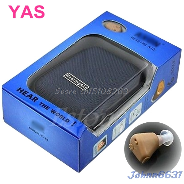 Rechargeable Acousticon In Ear Hearing Aid Aids Audiphone Sound Amplif EU Plug #Y207E# Hot Sale acosound invisible cic hearing aid digital hearing aids programmable sound amplifiers ear care tools hearing device 210if
