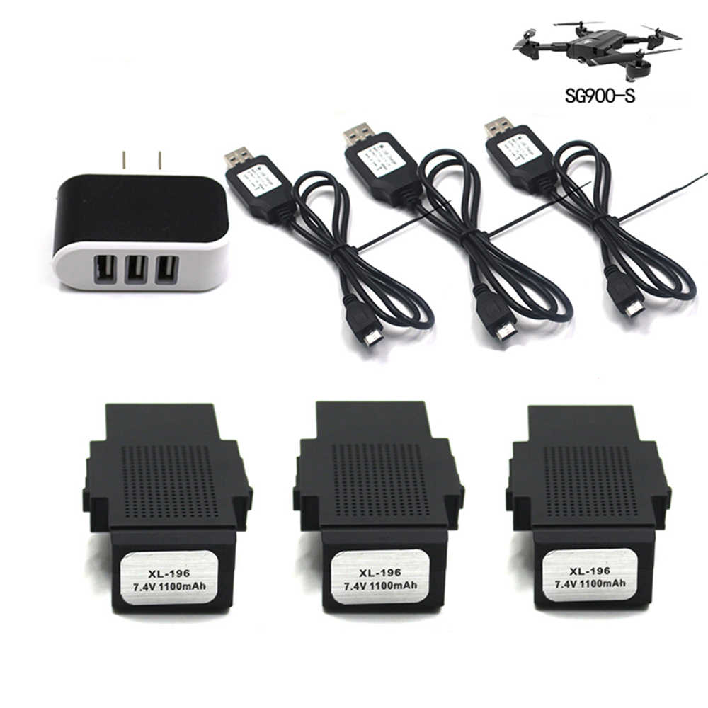 7.4V Batterij Voor SG900-S Drone SG900S Gps Drone Spare Vervangbare SG900S/X192 Drone