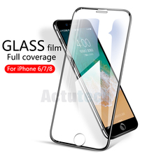 9H HD full coverage tempered glass for iphone 7 8 6s plus glass iphone 7 8 screen protector for iphone 6 plus 7 plus glass film