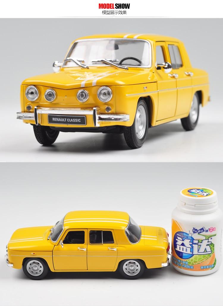 brand new welly 1 24 scale car model toys france 1964 renault r8 gordini diecast metal car model. Black Bedroom Furniture Sets. Home Design Ideas